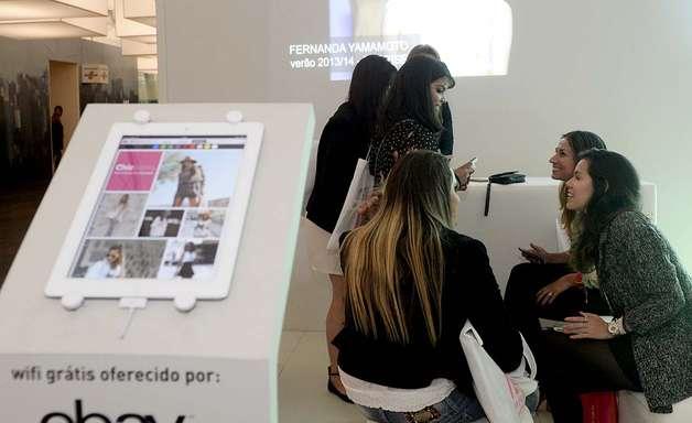 Aplicativo do eBay para moda atinge 70 mil downloads em um mês