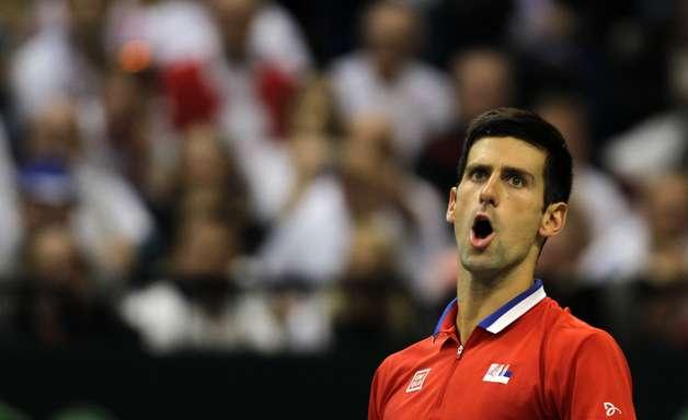 Djokovic vence Stepanek, e Sérvia abre vantagem por título da Davis
