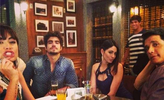 Márcio Garcia posta foto com elenco nos bastidores de 'Amor à Vida'
