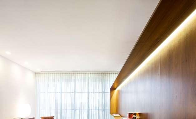 Casa de campo tem design ecológico e contemporâneo