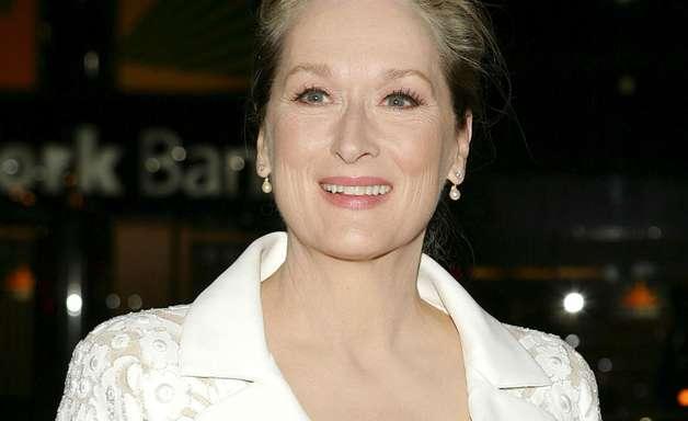 Meryl Streep evita rugas com consumo de alimentos orgânicos