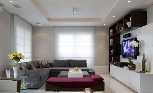 Apartamento em SP mistura visual clean com toques de luxo