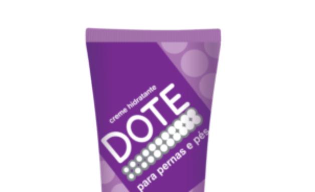 Creme promove hidratação e proteção na pele das pernas e pés