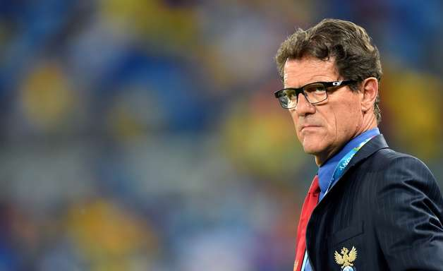 Capello garante permanência na seleção russa até Copa 2018