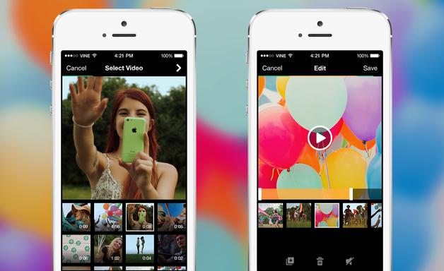Vine lança função para importar vídeos existentes no celular