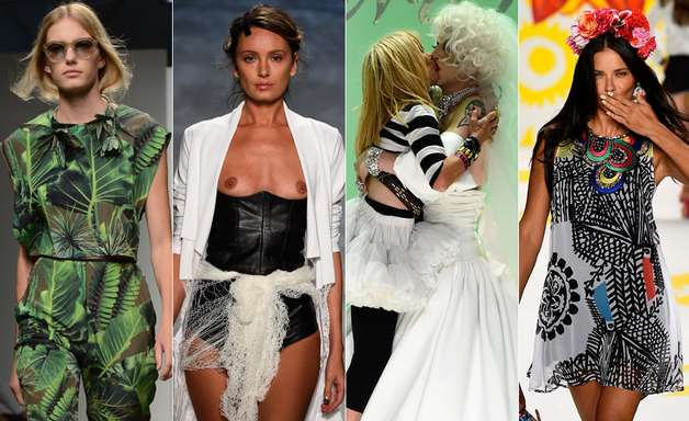 Drag queen a folha de maconha: veja como foi a semana de NY