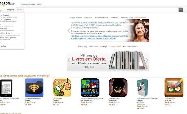 Amazon Brasil aposta nos livros para presentear no Natal