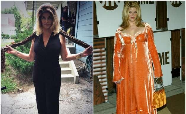 Longe dos holofotes, Kirstie Alley reaparece 9 kg mais magra