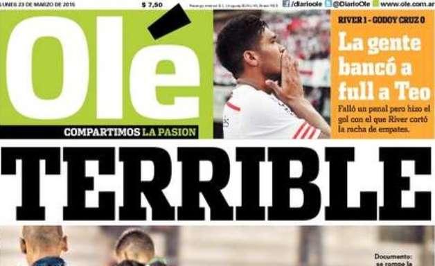 """Goleiro do Boca quebra perna de rival em lesão """"terrível"""""""