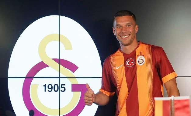 Podolski é anunciado como reforço do Galatasaray