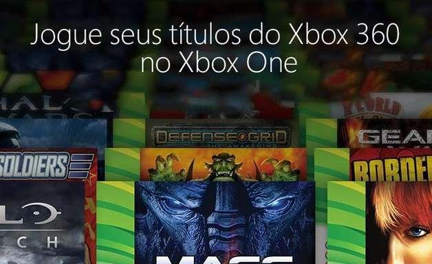 Saiba como jogar 'games' do Xbox 360 no Xbox One