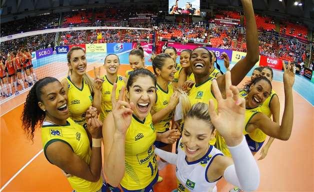 Brasil atropela a Holanda e alcança final do Grand Prix
