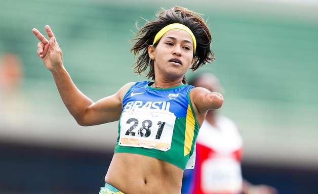 Teresinha leva o bronze nos 100 m; Felipe fica com a prata