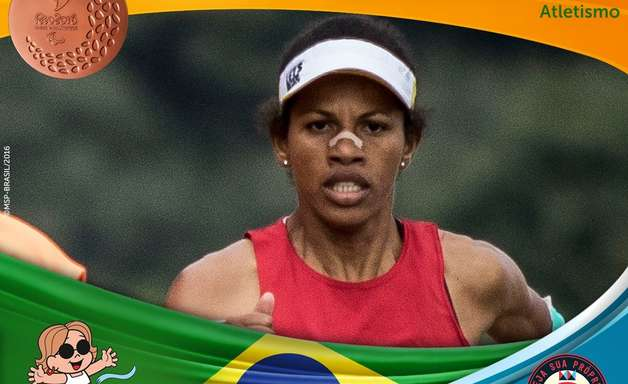 Edneusa é bronze na maratona e encerra participação no Rio