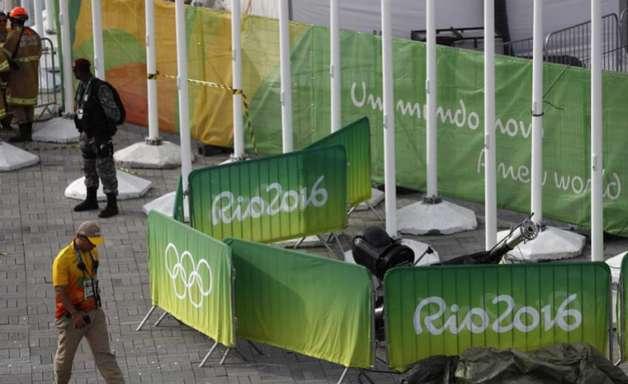 Polícia indicia cinco por acidente com câmera na Rio 2016