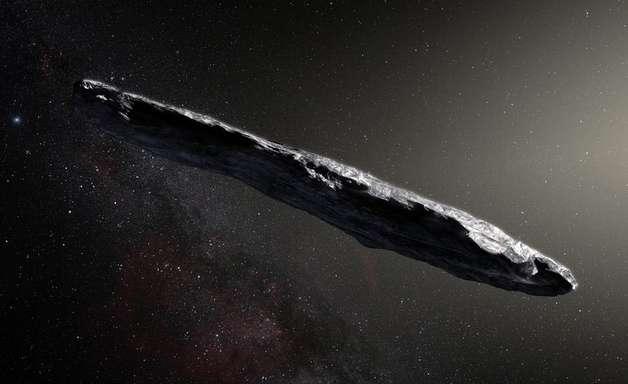 Misterioso objeto 'alienígena' em forma de charuto pode ser apenas rocha congelada, dizem cientistas