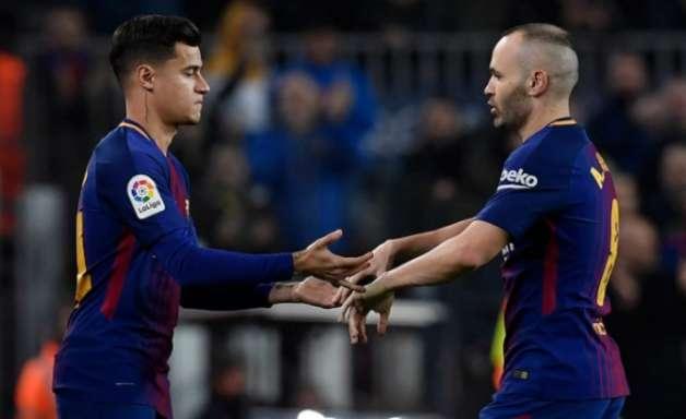 Coutinho estreia, Barcelona vence e avança na Copa do Rei