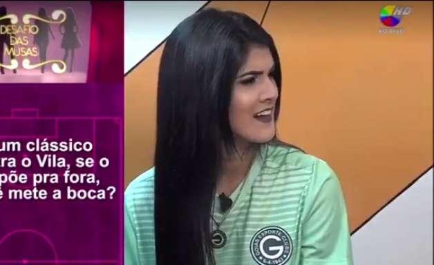 Programa constrange musas de Goiás com entrevista sexista