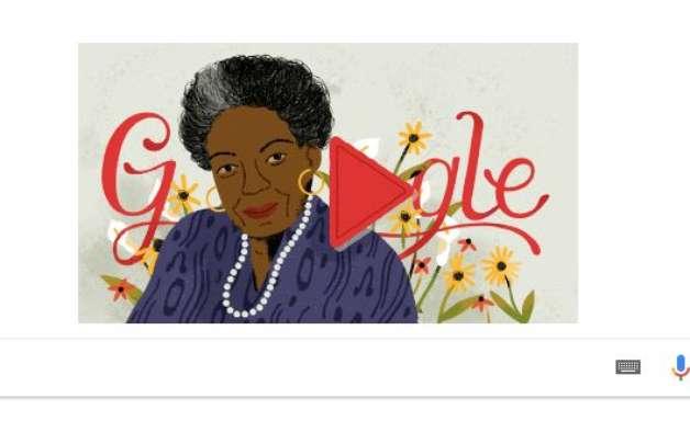 Google homenageia ativista negra Maya Angelou