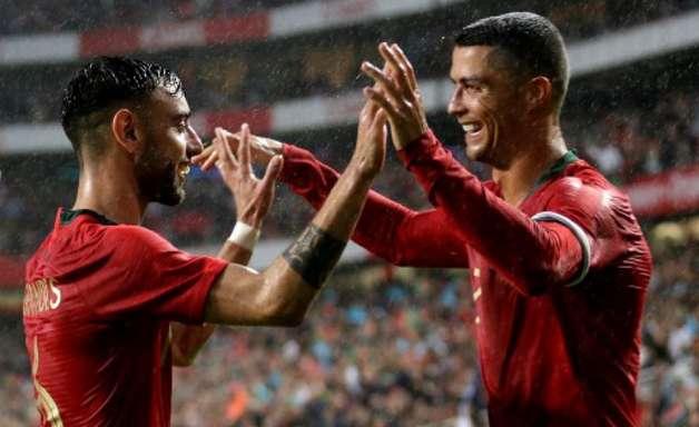 Com Cristiano Ronaldo titular, Portugal goleia a Argélia