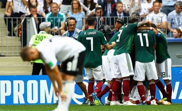Surpreendente, México desbanca Alemanha na estreia da Copa