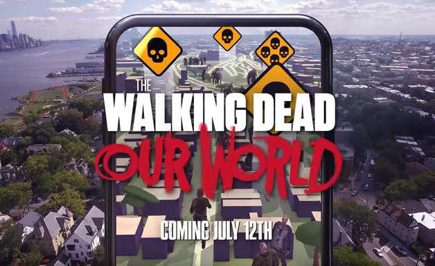 Walking Dead vai ganhar jogo nos moldes de Pokémon GO