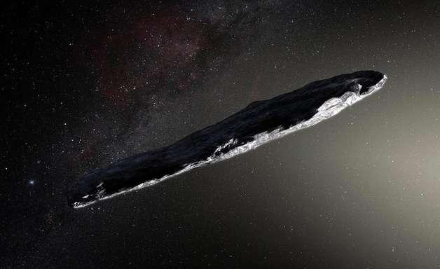 Oumuamua | Objeto interestelar pode ser um cometa ou um asteroide