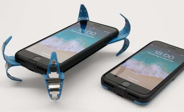 Conheça o case de celular inteligente que protege o aparelho de quedas