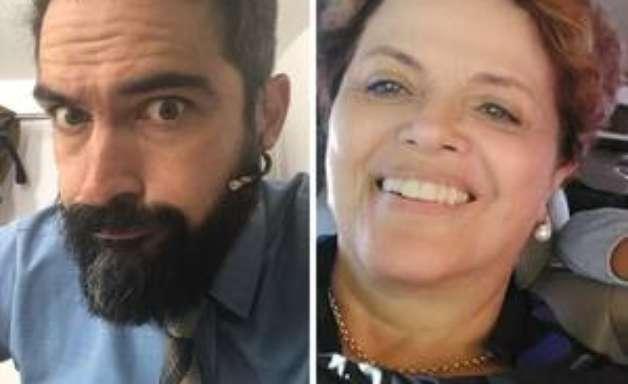 Ex-RBD adota foto de Dilma no perfil após perder aposta