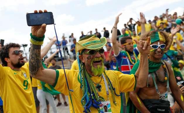 Brasileiros já se espalham pelas ruas históricas de Kazan