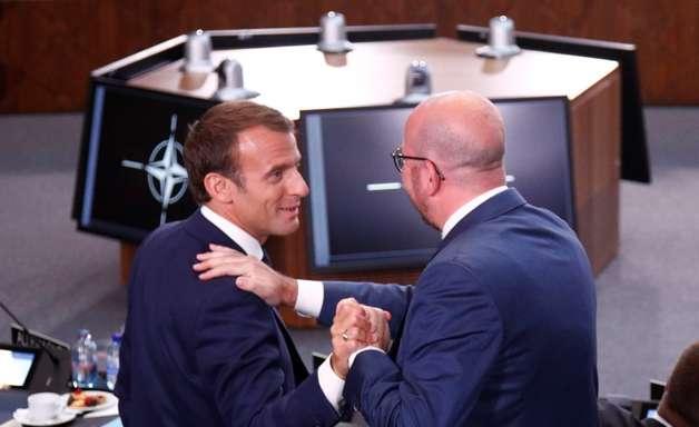 """""""A França teve sorte"""", diz primeiro-ministro belga a Macron"""