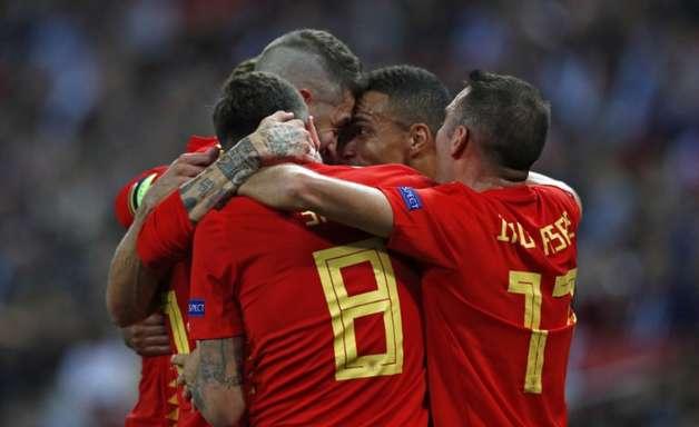 De virada, Espanha bate Inglaterra pela Liga das Nações
