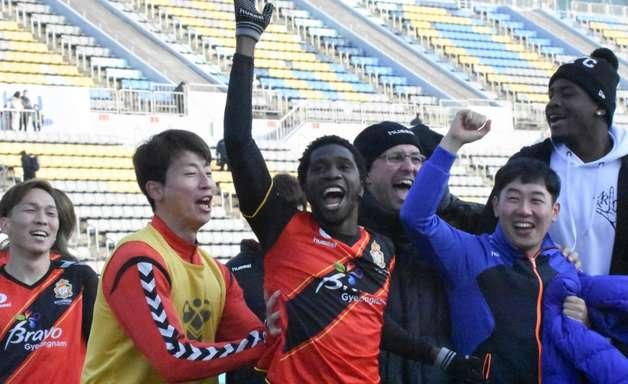 Negueba marca na Coreia e equipe vai à Champions da Ásia