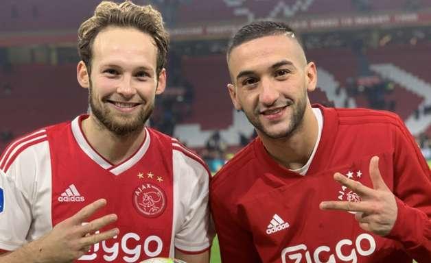 Ajax goleia por 8 a 0 no Campeonato Holandês