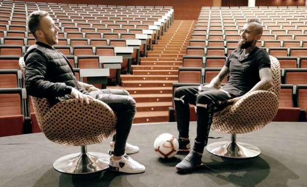 """Vidal revela sonho no Brasil: """"Quero jogar no Flamengo"""""""