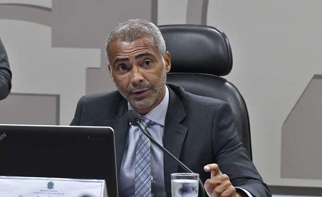 Romário denuncia golpe de Del Nero, Nunes e Feijó na CBF