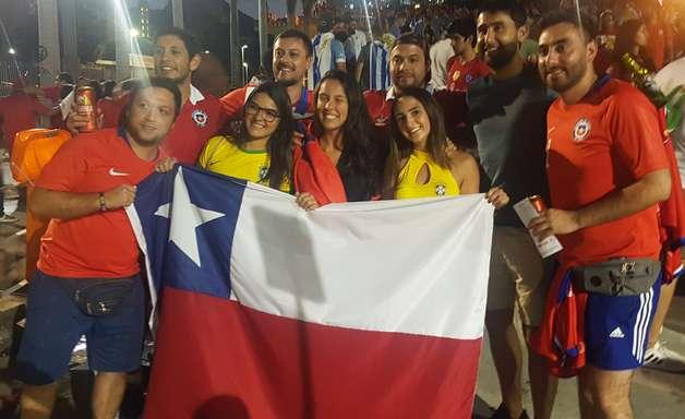 Uma invasão chilena no Maracanã