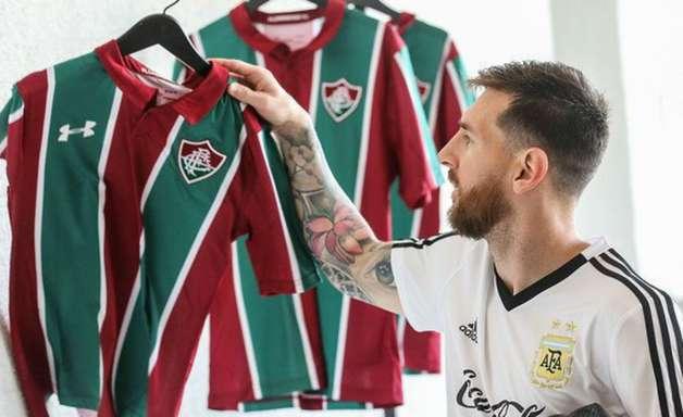 """Messi no Flu? Cavani gremista? Clubes aproveitam Copa América para """"namorar craques"""""""