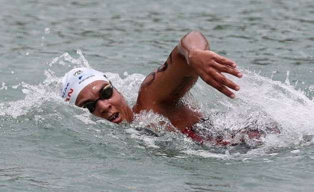 Ana Marcela é 5ª na maratona aquática e vai à Olimpíada