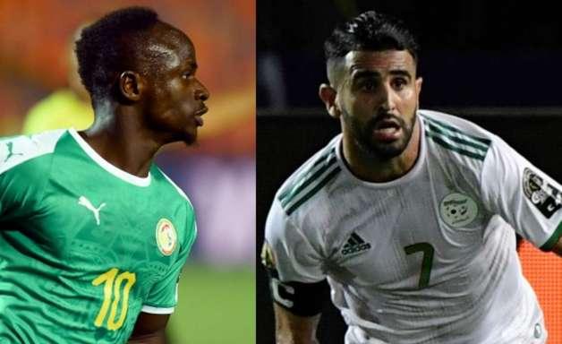 Final da Copa Africana de Nações terá outro duelo Mané x Mahrez