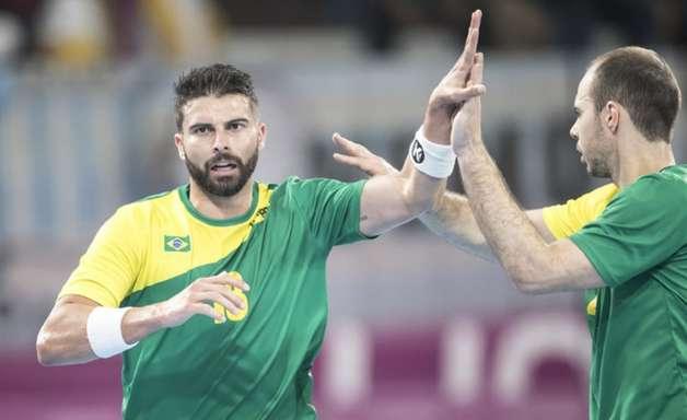 Brasil atropela México e fatura o bronze no handebol masculino