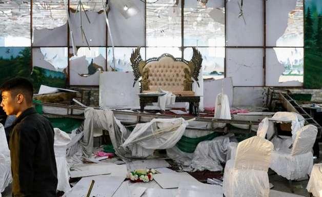 Ataque de homem-bomba em casamento deixa 63 de mortos