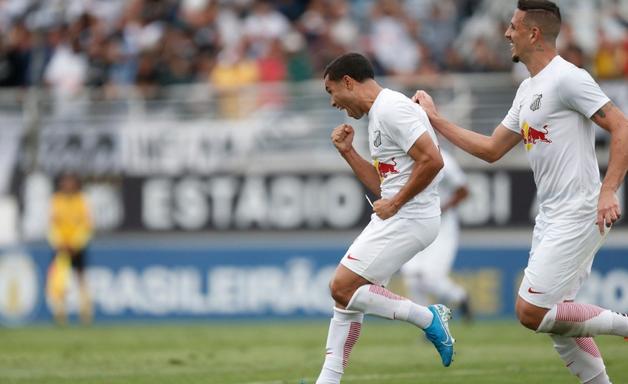 Bragantino goleia o Londrina e mantém vantagem na liderança