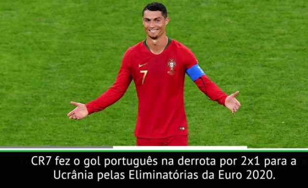 FUTEBOL: Cristiano Ronaldo chega à marca de 700 gols na carreira