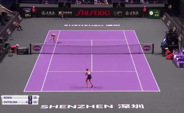 TÊNIS: WTA Finals: Svitolina vence Kenin (7-5, 7-6)