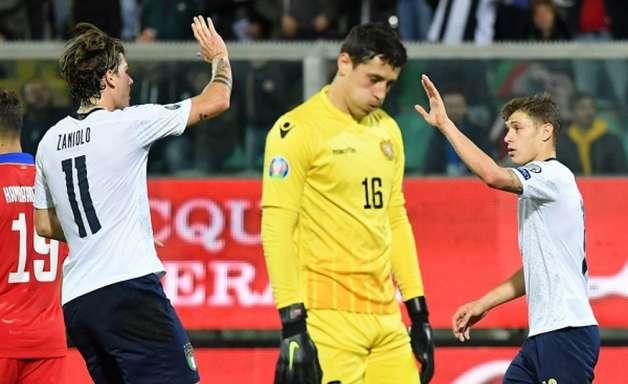 Sem pena, Itália aplica goleada histórica na Armênia