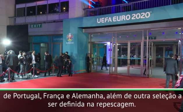 Eurocopa 2020: Portugal, França e Alemanha caem no grupo da morte da Eurocopa