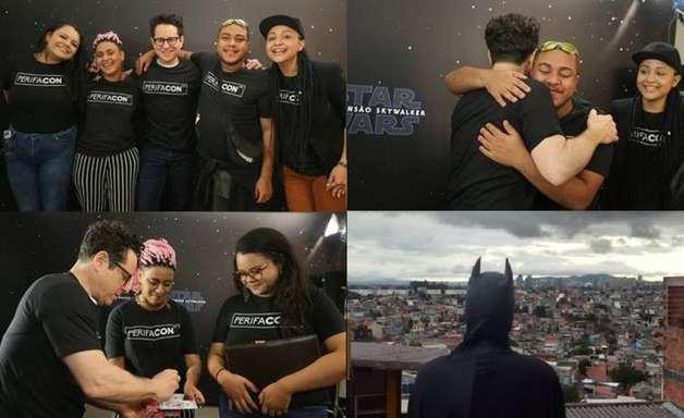 J. J. Abrams se reúne com criadores da 'CCXP das favelas'