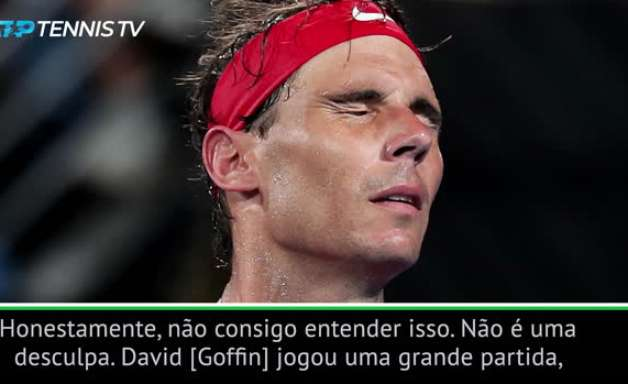 """TÊNIS: ATP Cup: Nadal após derrota para Goffin: """"Tivemos a pior situação possível para jogar este duelo"""""""