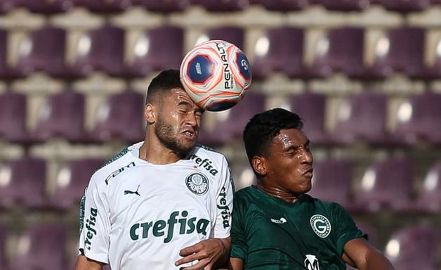 Palmeiras faz jogo ruim contra o Goiás e diz adeus à Copinha